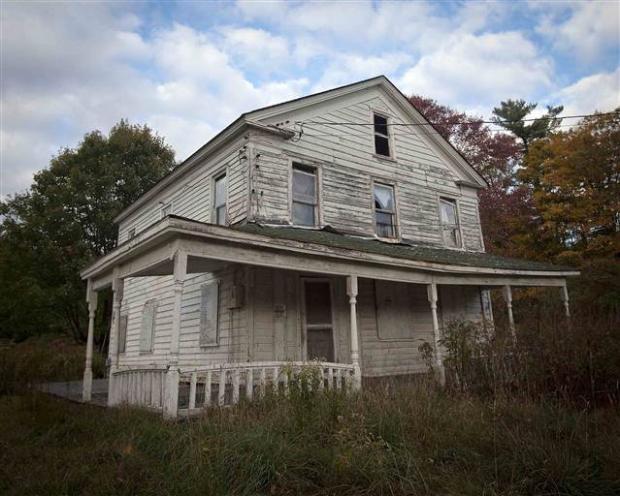 Catskills'in terk edilmiş evleri 8