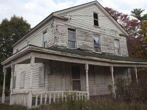 Catskills'in terk edilmiş evleri