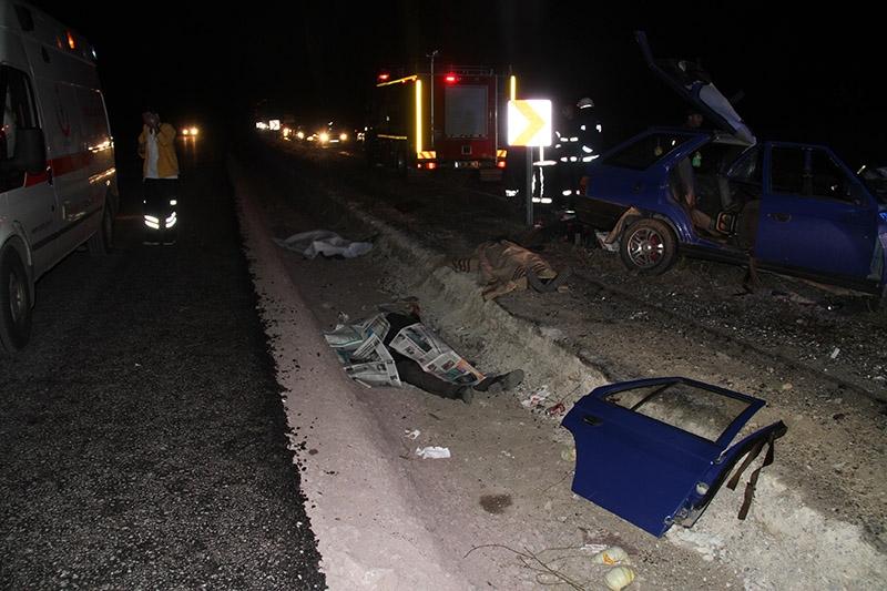 Çankırı'da trafik kazası: 3 ölü 7 yaralı 1