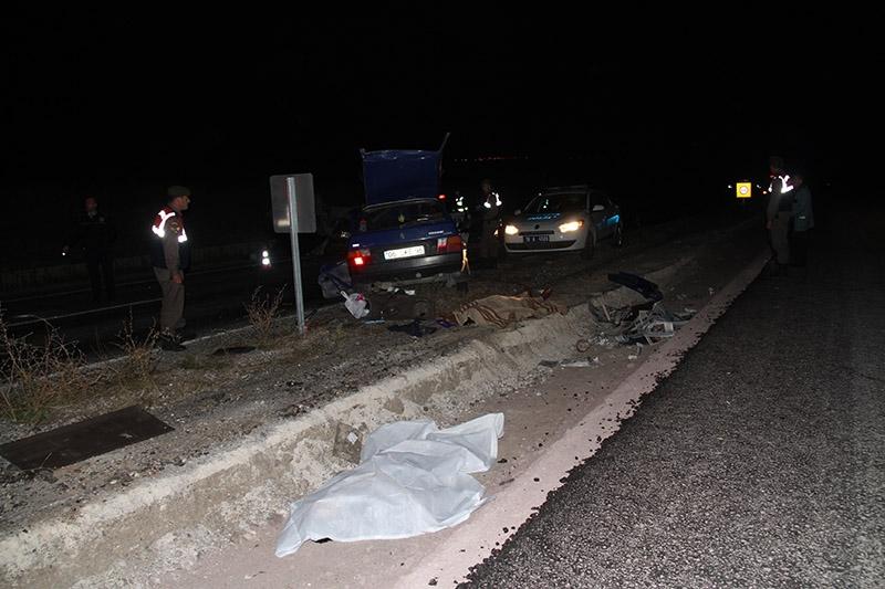 Çankırı'da trafik kazası: 3 ölü 7 yaralı 3