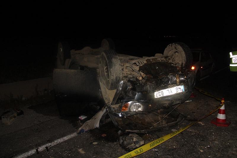 Çankırı'da trafik kazası: 3 ölü 7 yaralı 4
