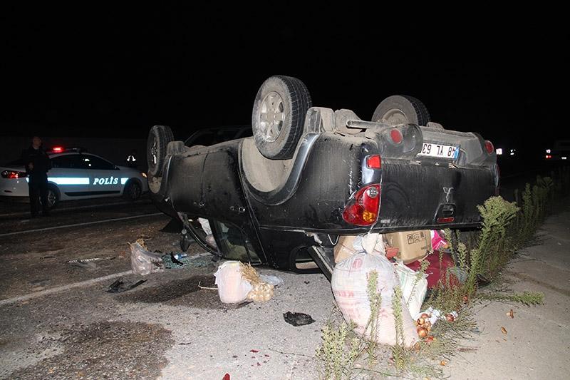 Çankırı'da trafik kazası: 3 ölü 7 yaralı 6