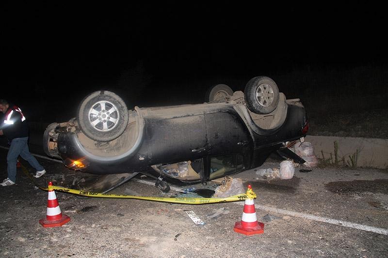 Çankırı'da trafik kazası: 3 ölü 7 yaralı 8