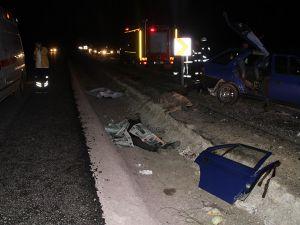 Çankırı'da trafik kazası: 3 ölü 7 yaralı