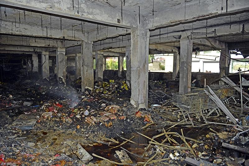 IŞİD bahanesiyle yaktılar yıktılar 150