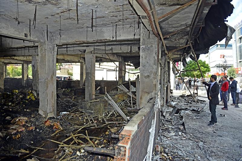 IŞİD bahanesiyle yaktılar yıktılar 151