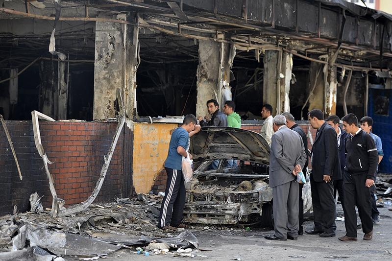 IŞİD bahanesiyle yaktılar yıktılar 153