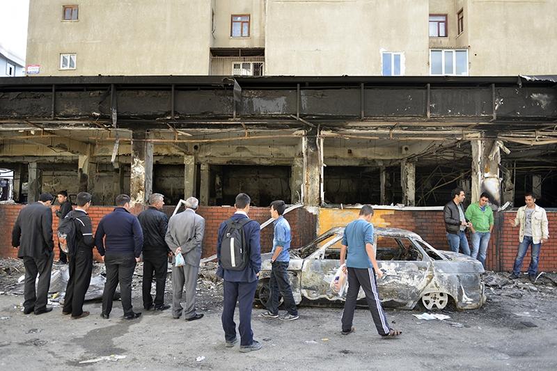 IŞİD bahanesiyle yaktılar yıktılar 154