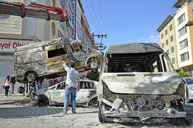 IŞİD bahanesiyle yaktılar yıktılar 160