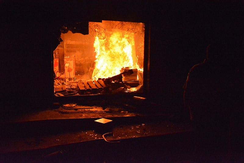 IŞİD bahanesiyle yaktılar yıktılar 36