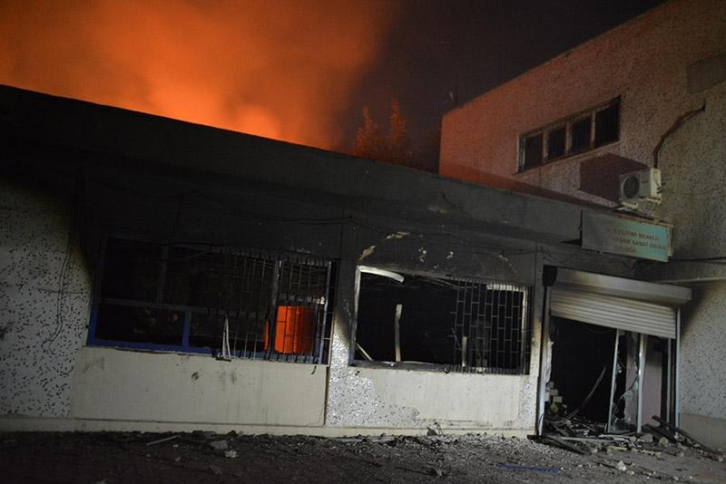 IŞİD bahanesiyle yaktılar yıktılar 81