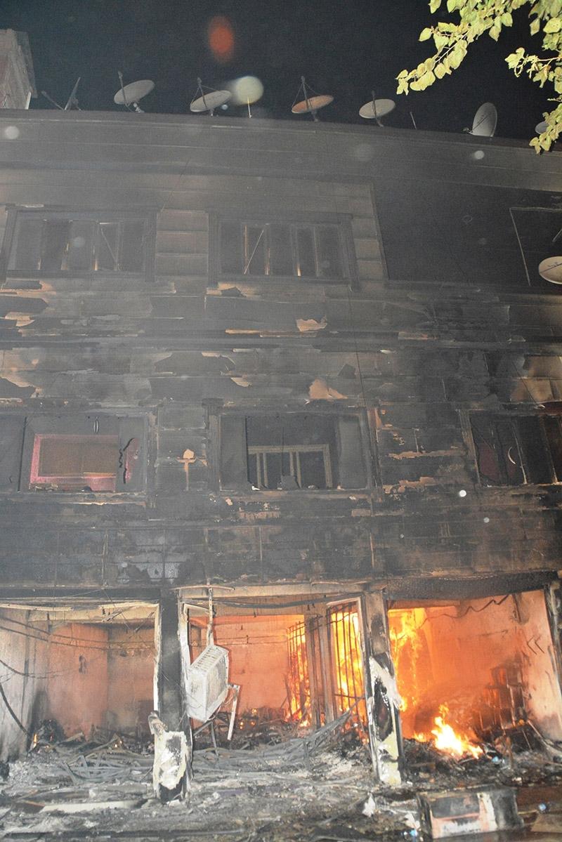 IŞİD bahanesiyle yaktılar yıktılar 85