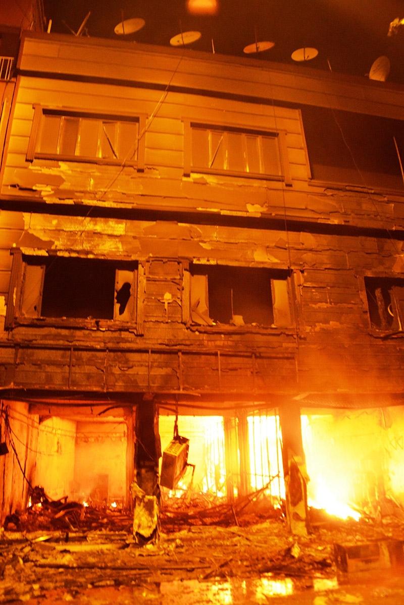 IŞİD bahanesiyle yaktılar yıktılar 86