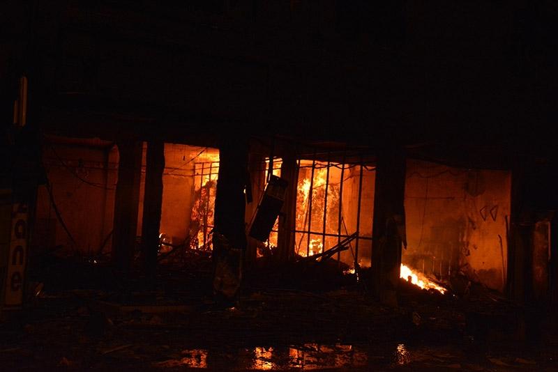 IŞİD bahanesiyle yaktılar yıktılar 87