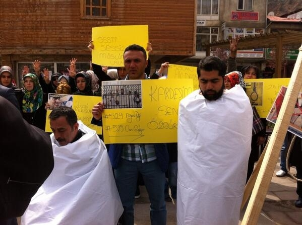 Mısır'daki idam kararlarına sessiz kalmadılar 14