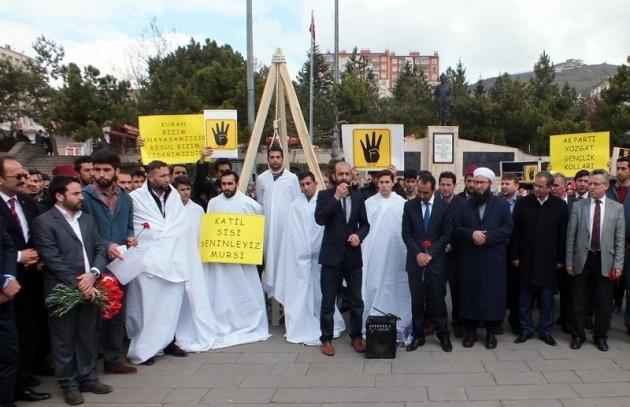 Mısır'daki idam kararlarına sessiz kalmadılar 18
