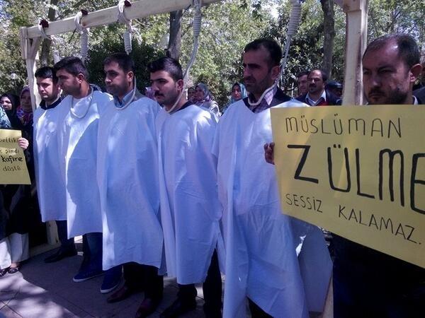 Mısır'daki idam kararlarına sessiz kalmadılar 4