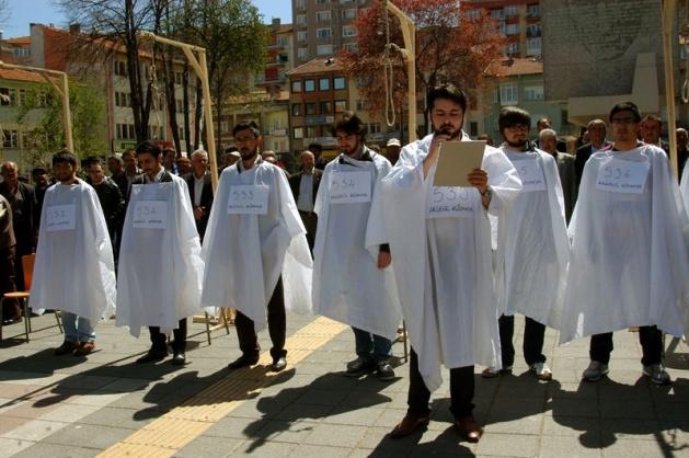 Mısır'daki idam kararlarına sessiz kalmadılar 6
