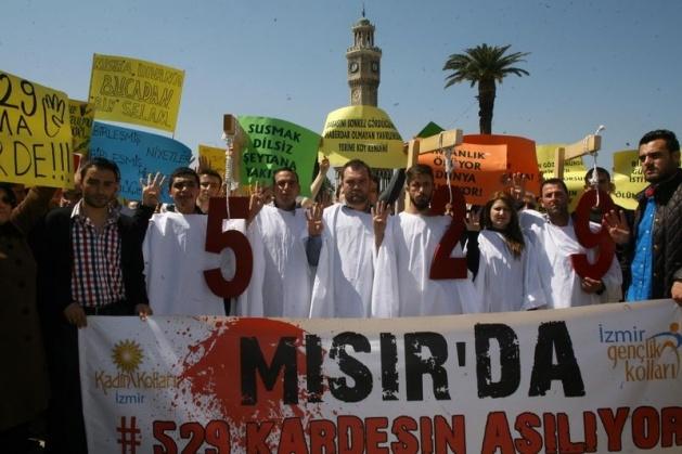 Mısır'daki idam kararlarına sessiz kalmadılar 7