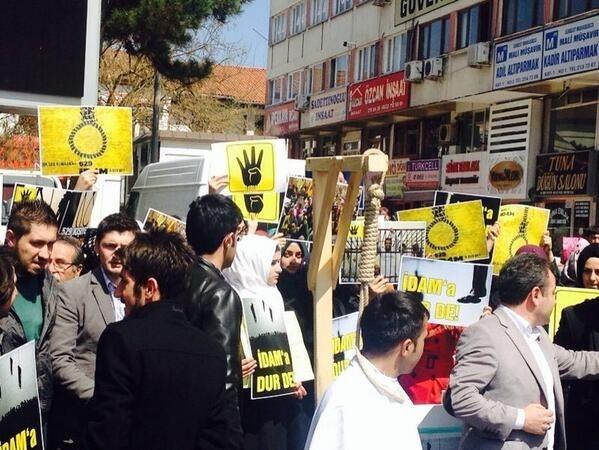 Mısır'daki idam kararlarına sessiz kalmadılar 9