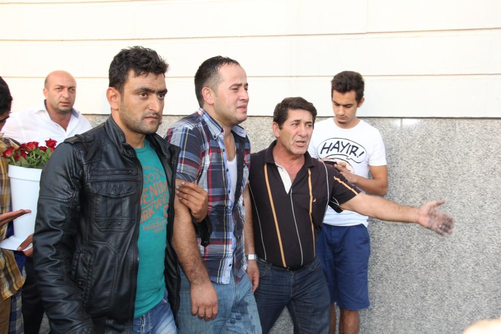 Mersin'de yolcu otobüsü yandı 7