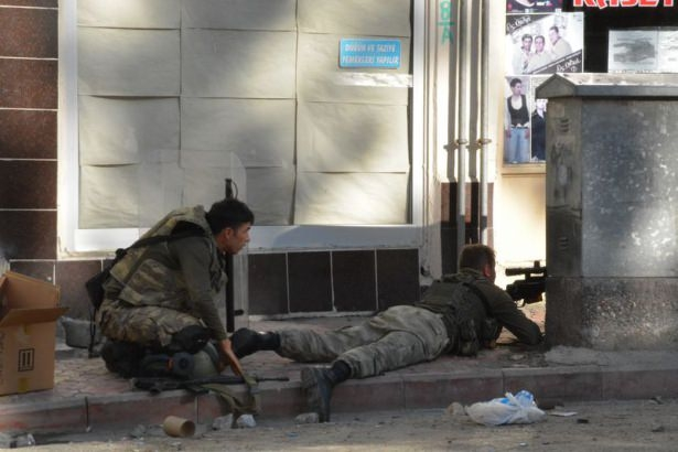 Siirt'te asker sokağa indi 8