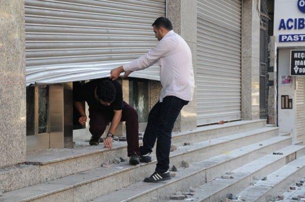 IŞİD bahanesiyle izinsiz gösteriler 47