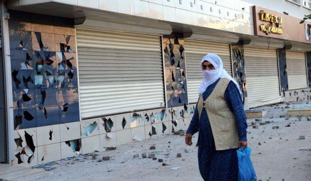 IŞİD bahanesiyle izinsiz gösteriler 51