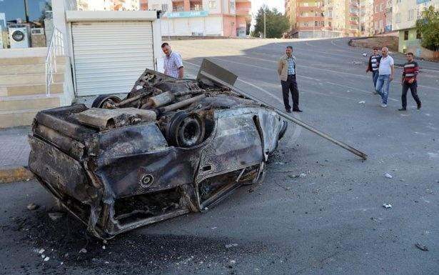 IŞİD bahanesiyle izinsiz gösteriler 53