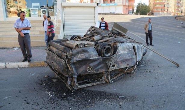 IŞİD bahanesiyle izinsiz gösteriler 60