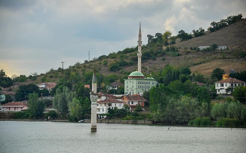 """Kızılırmak'taki """"batık minare"""" 12"""