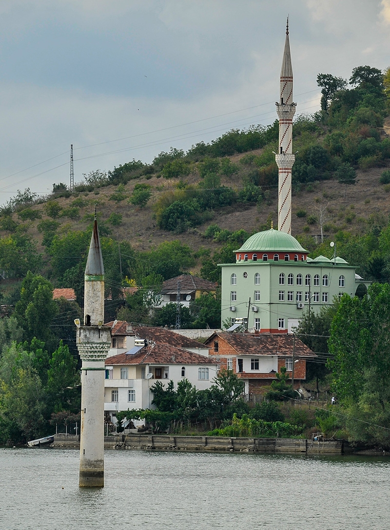 """Kızılırmak'taki """"batık minare"""" 13"""