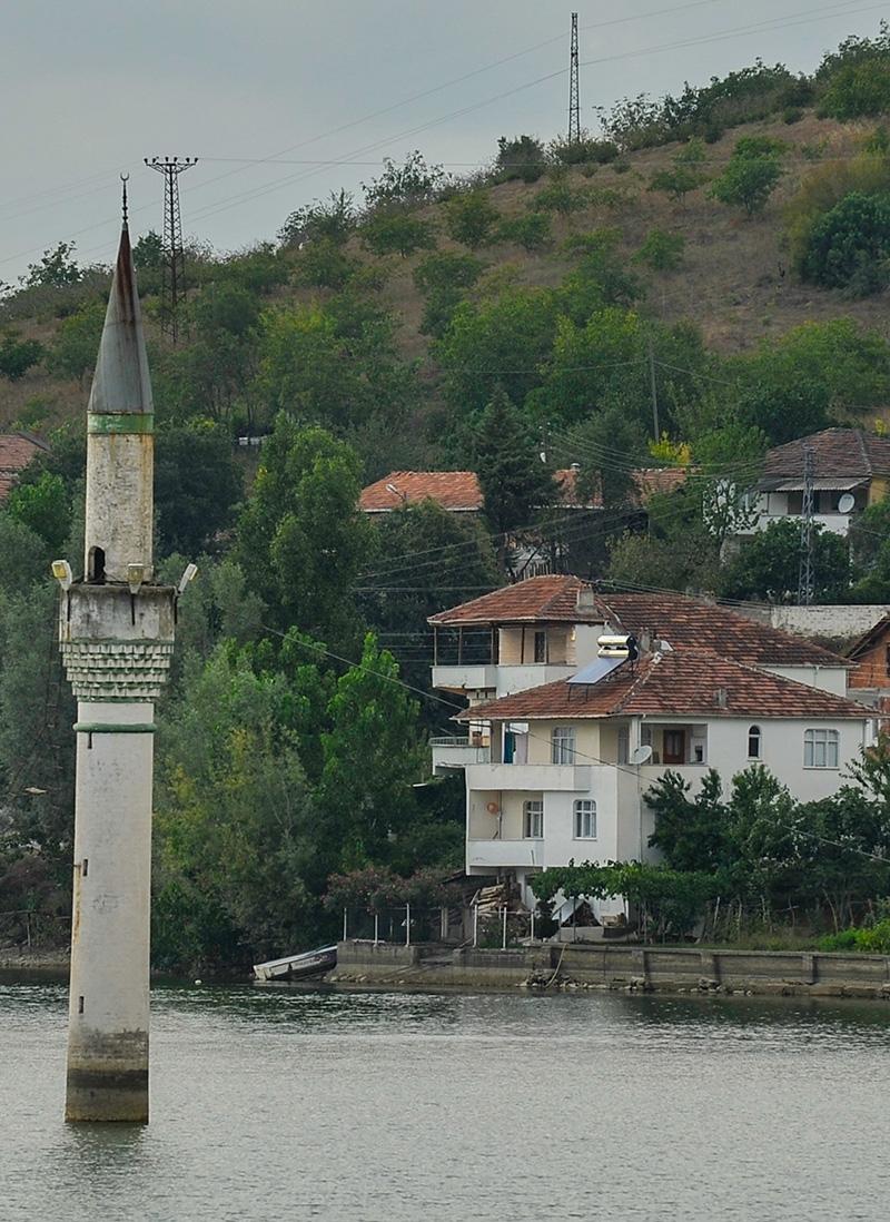 """Kızılırmak'taki """"batık minare"""" 14"""