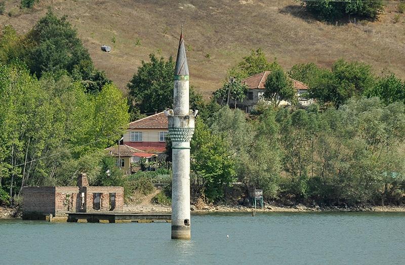 """Kızılırmak'taki """"batık minare"""" 6"""