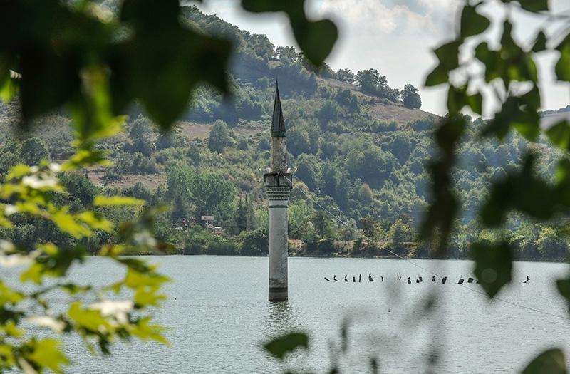 """Kızılırmak'taki """"batık minare"""" 9"""