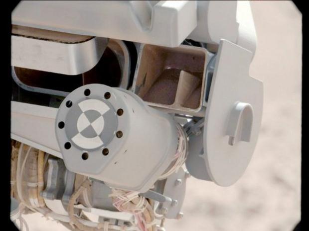 Curiosity'nin Mars'tan çektiği fotoğraflar 10