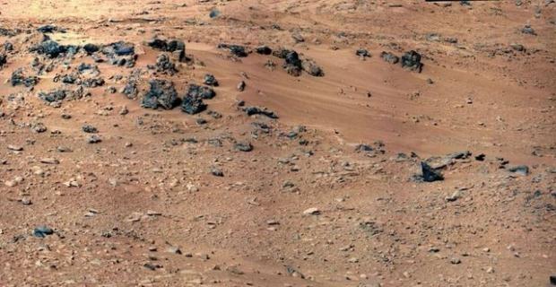 Curiosity'nin Mars'tan çektiği fotoğraflar 11