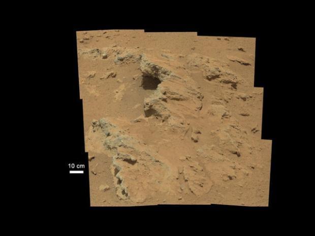 Curiosity'nin Mars'tan çektiği fotoğraflar 13