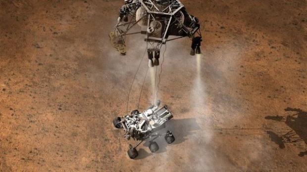 Curiosity'nin Mars'tan çektiği fotoğraflar 14