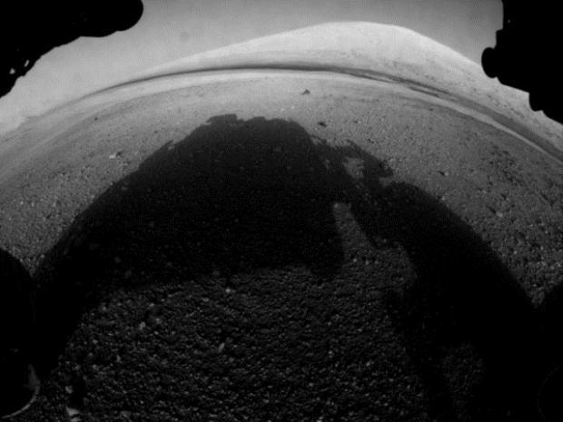 Curiosity'nin Mars'tan çektiği fotoğraflar 17