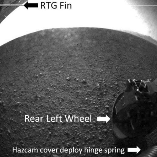 Curiosity'nin Mars'tan çektiği fotoğraflar 24