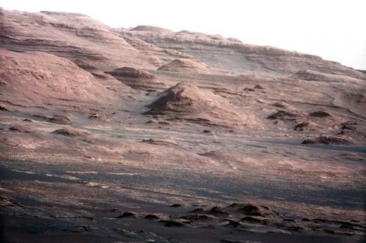Curiosity'nin Mars'tan çektiği fotoğraflar 26