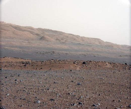 Curiosity'nin Mars'tan çektiği fotoğraflar 27