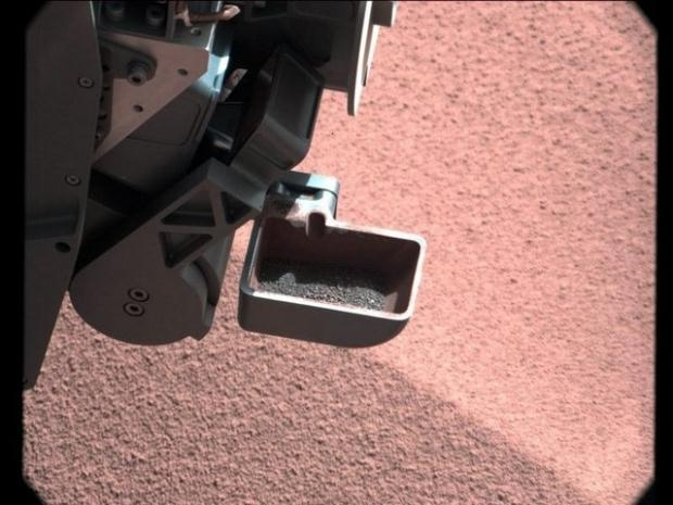 Curiosity'nin Mars'tan çektiği fotoğraflar 3