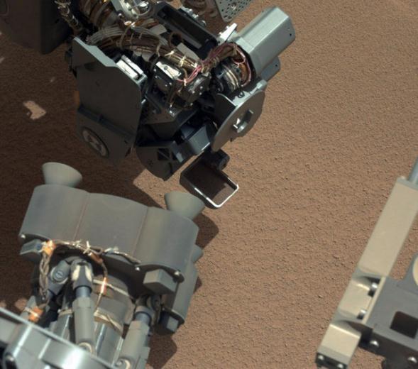 Curiosity'nin Mars'tan çektiği fotoğraflar 5