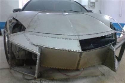 Lamborghini görünümlü Mitsubishi 11