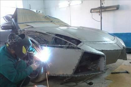 Lamborghini görünümlü Mitsubishi 12