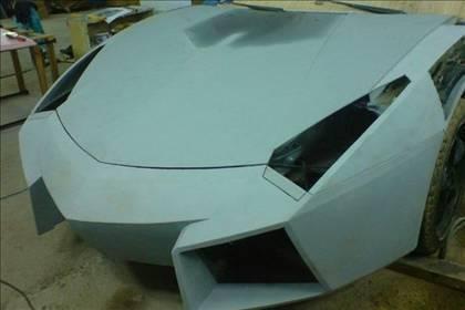 Lamborghini görünümlü Mitsubishi 20