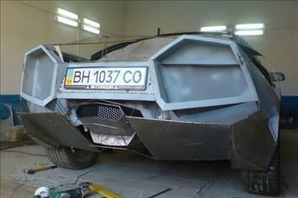 Lamborghini görünümlü Mitsubishi 23