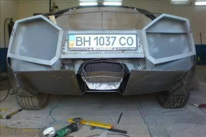 Lamborghini görünümlü Mitsubishi 24